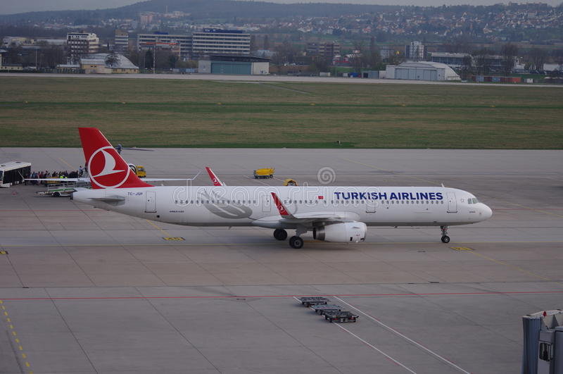 Turkish Airlines stock foto
