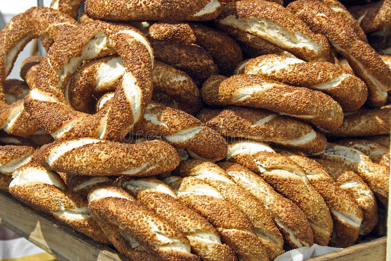 Download Turkish bagels stock photo. Image of nutrition, istanbul - 12744530