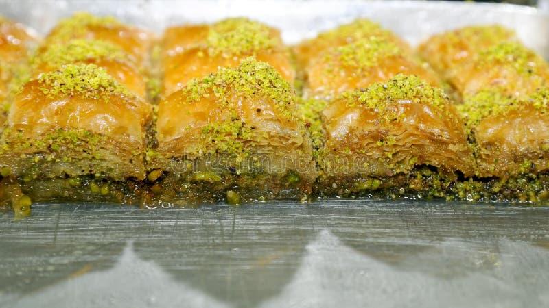 Turkish Baklava stock image