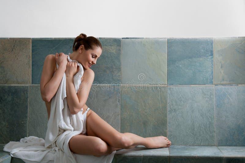 Download Turkish bath stock photo. Image of lady, happy, carefree - 24896310