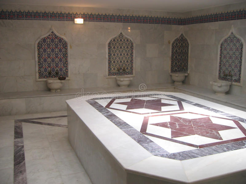 Turkish Bath Stock Photo Image Of Effect Tiling Water