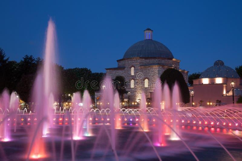 Turkish bath at night royalty free stock image