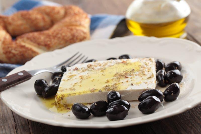Turkish breakfast royalty free stock photos