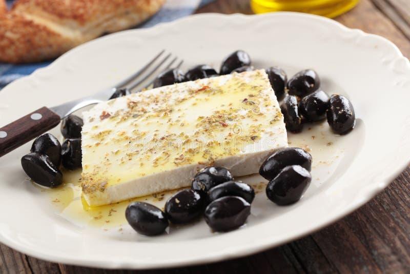 Turkish breakfast stock photography