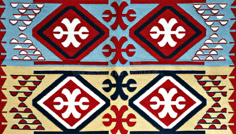Turkish Carpet Pattern stock photo