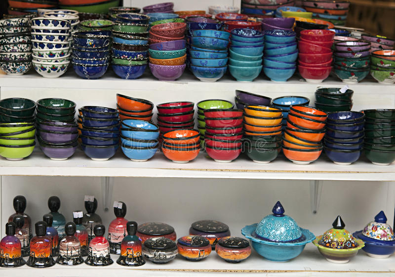 Download Turkish ceramics stock photo. Image of colored, blue - 27364216