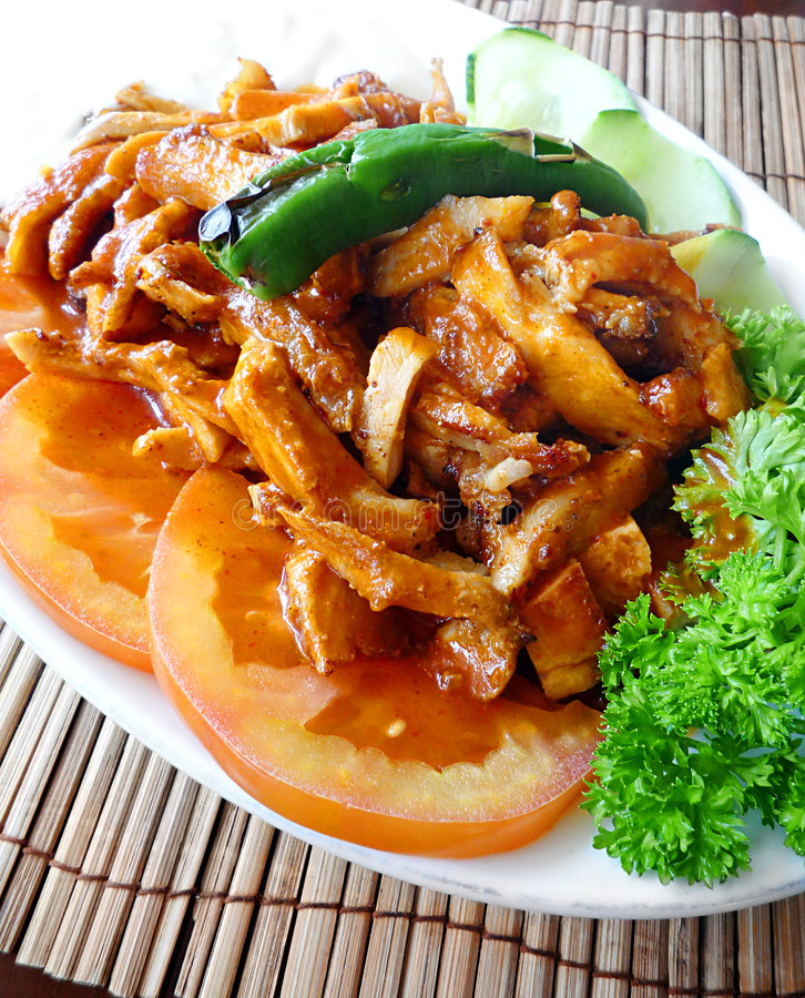 Turkish chicken dish stock images