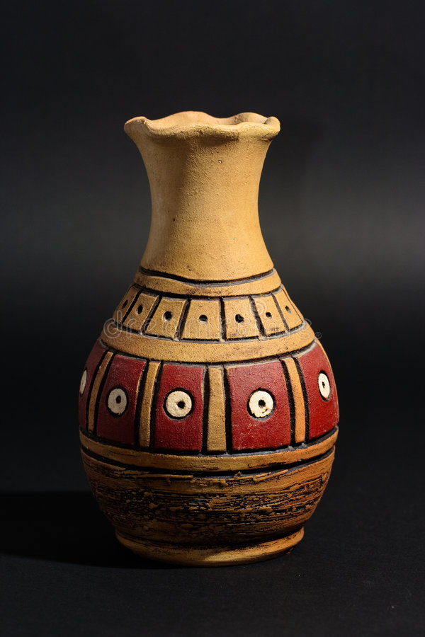 Turkish clay vase.