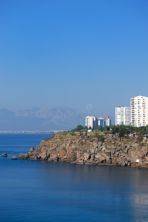 Download Turkish coast stock photo. Image of antalya, coast, summer - 22305822