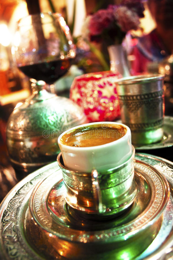 Download Turkish coffee stock image. Image of espresso, authentic - 18232943