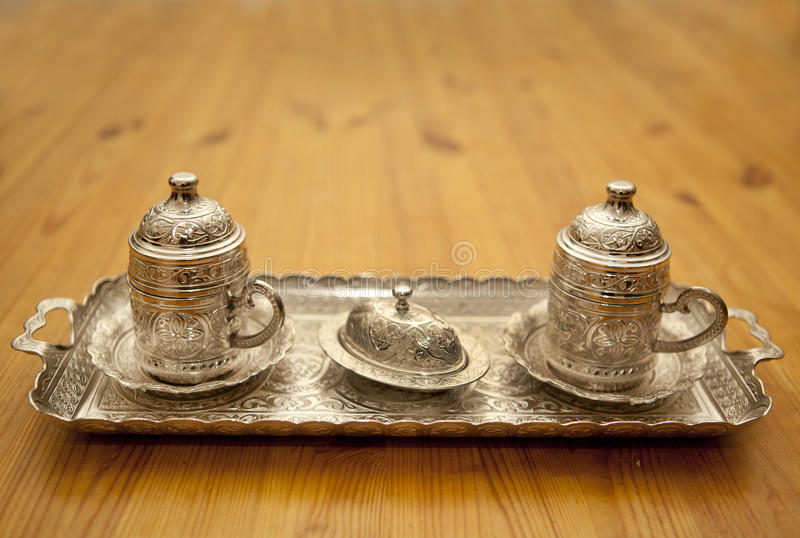Download Turkish coffee stock photo. Image of decorated, turkey - 28432222