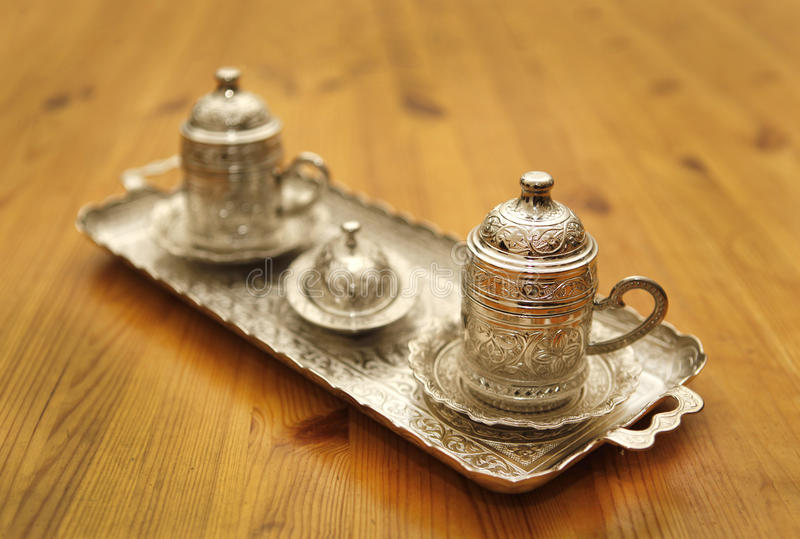 Download Turkish coffee stock photo. Image of decorated, ornament - 28432286