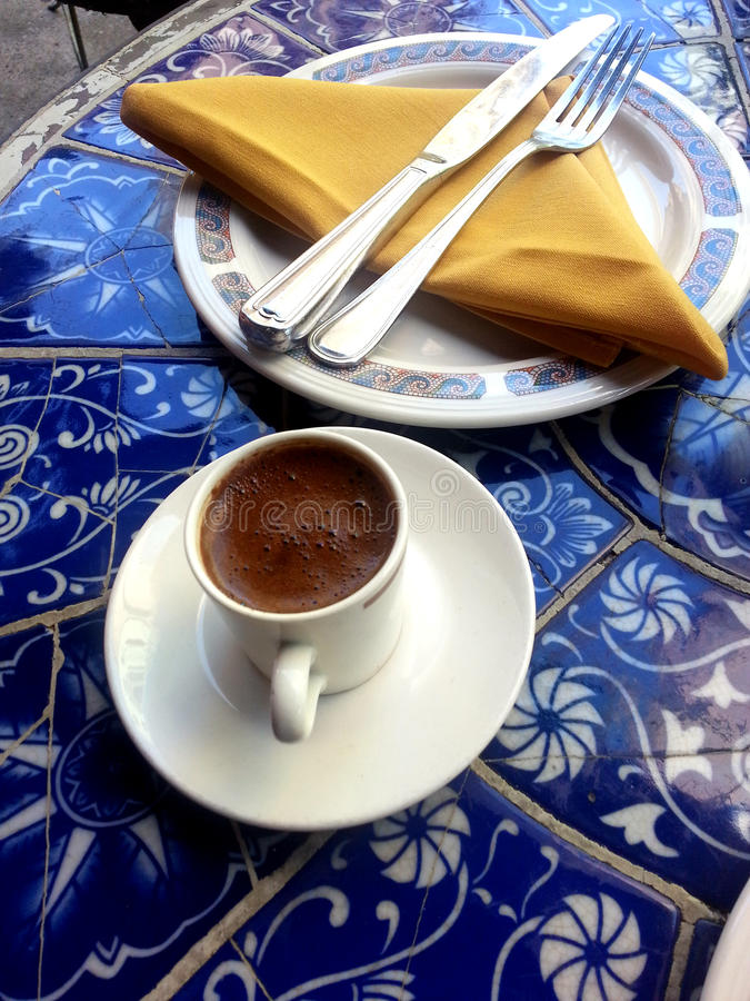 Turkish Coffee Break Royalty Free Stock Photo