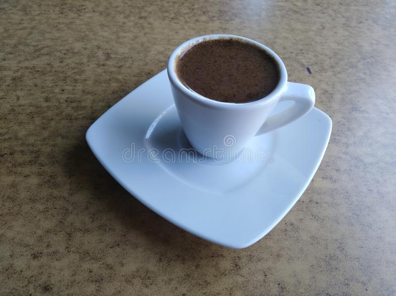 A Cup of Turkish Coffee royalty free stock images