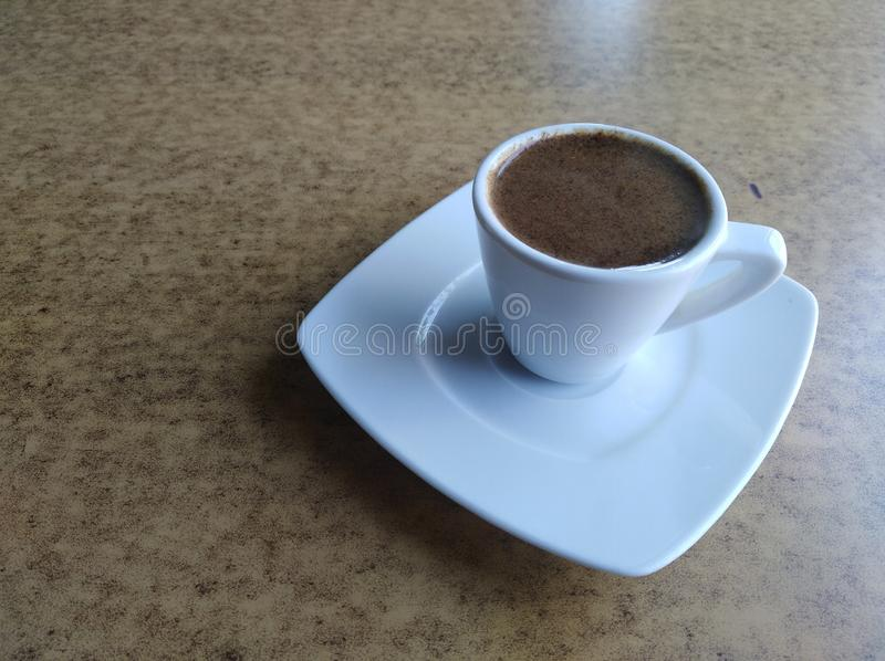 A Cup of Turkish Coffee stock images