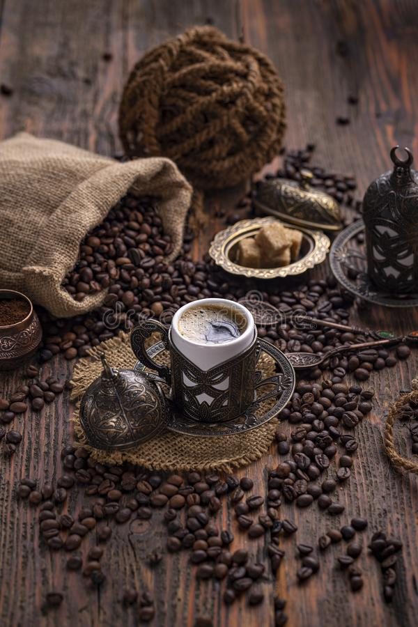 Turkish coffee royalty free stock image