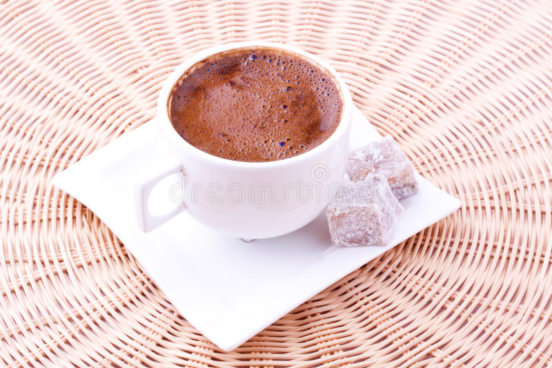 Download Turkish Coffee And Turkish Delight Stock Photo - Image: 24853196