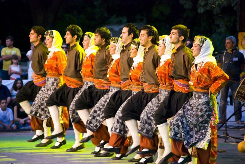 Turkish dancers stock images