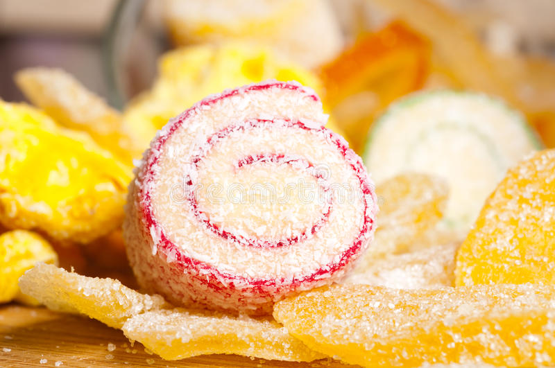Turkish delight royalty free stock photo