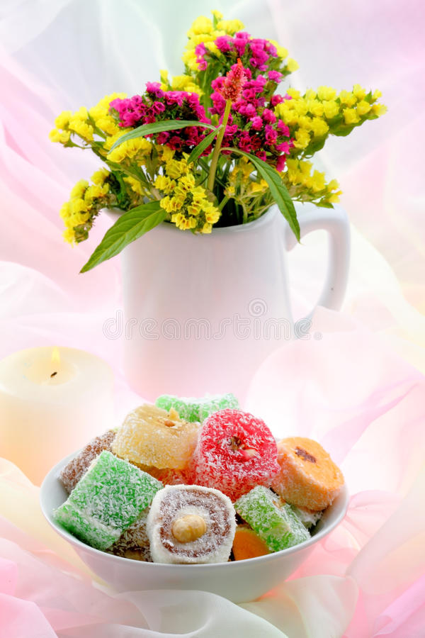 Download Turkish Delight stock photo. Image of culture, dessert - 26789230