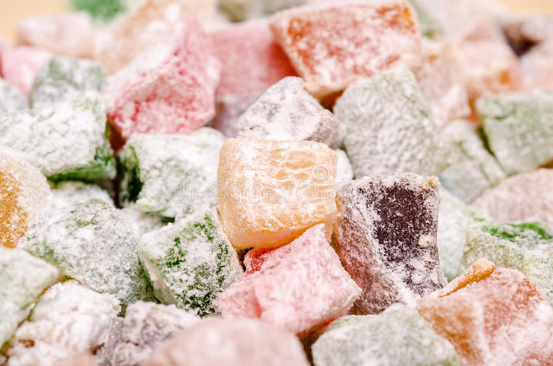 Download Turkish Delight stock image. Image of cook, colored, gelatin - 27374669