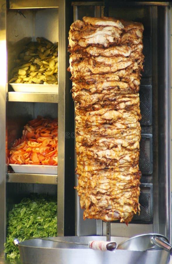 Download Turkish Doner Kebab stock image. Image of real, tomatoes - 4043723