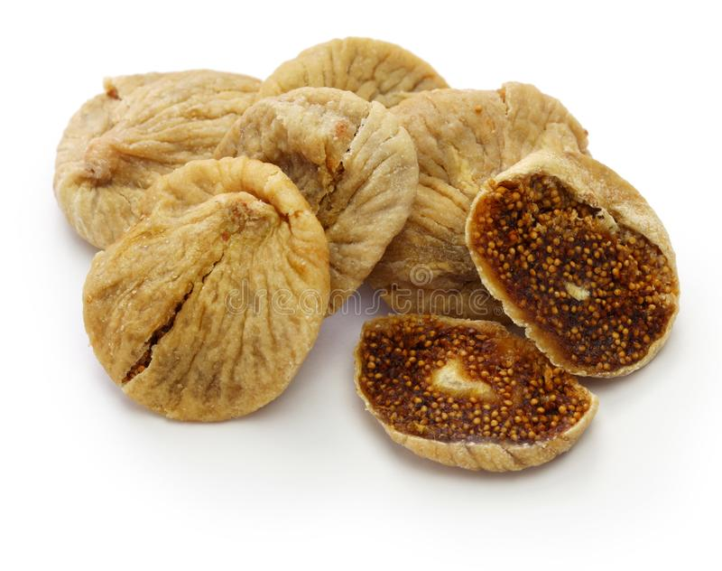 Turkish dried figs stock photos