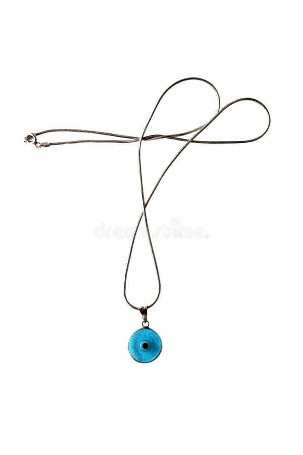 Free Turkish Evil Eye Bead Necklace Stock Photo - 13540690