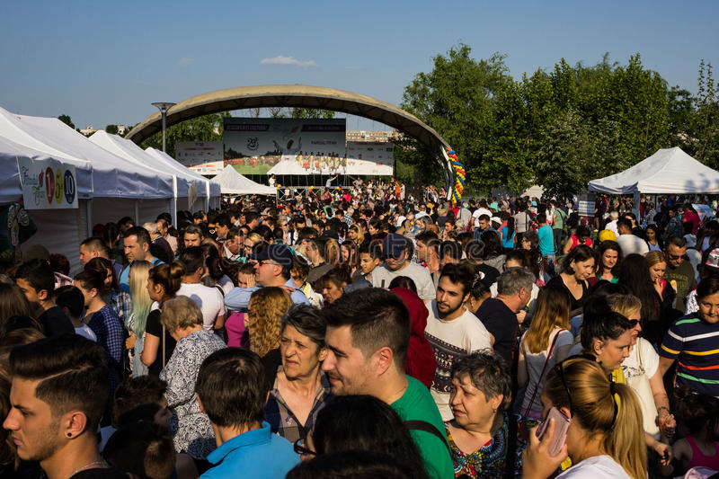 Turkish Festival. Celebration of Turkish culture and culinary exhibition royalty free stock photo