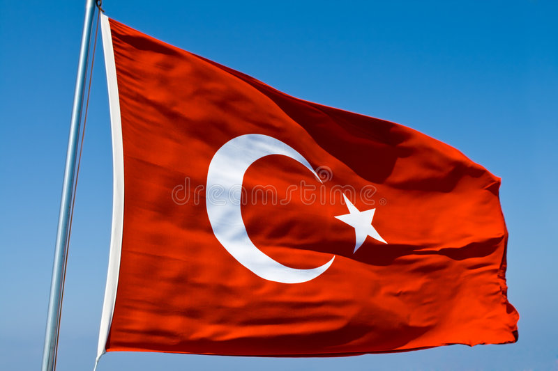 Download Turkish Flag stock photo. Image of wave, color, white - 6115086