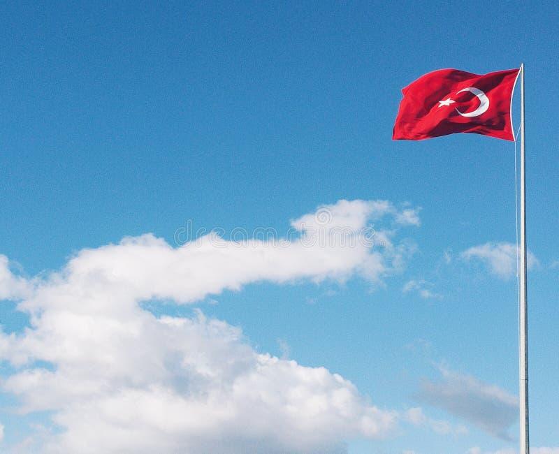Turkish Flag stock photos