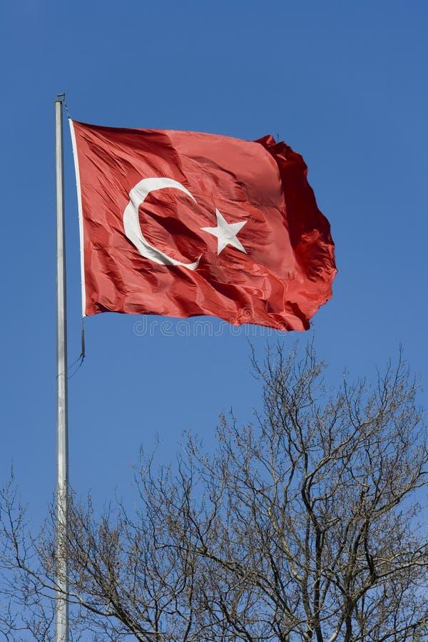 Turkish Flag - Turkey stock photos