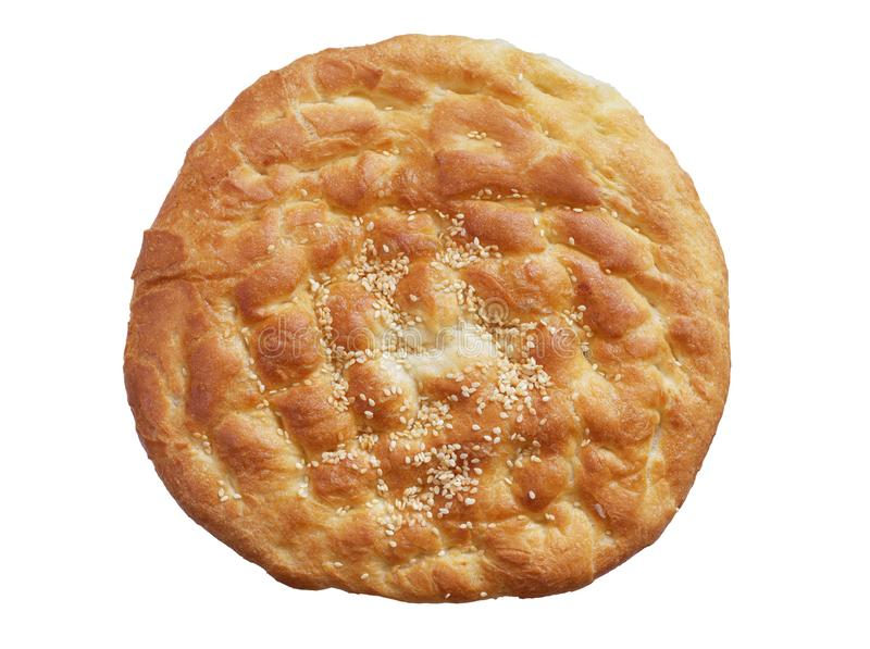Turkish flat bread royalty free stock images