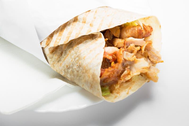 turkish kebab еды doner традиционный стоковое изображение rf