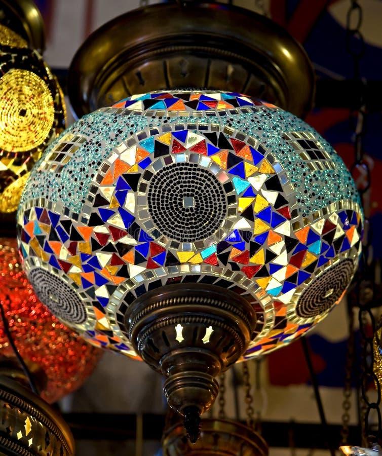 Download Turkish Lamp 2 Stock Image. Image Of Glass, Bronze, Ornate    22569871