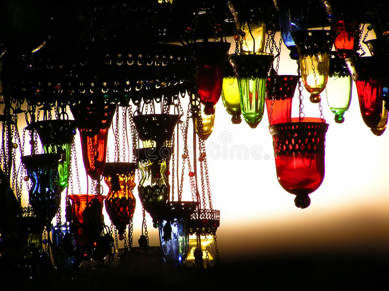 Download Turkish Lamps stock image. Image of brilliant, hanging - 1853511