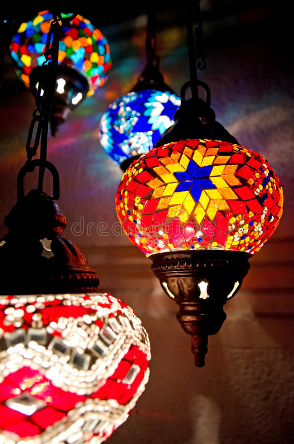 Download Turkish lamps stock image. Image of lamps, multi, style - 21984955
