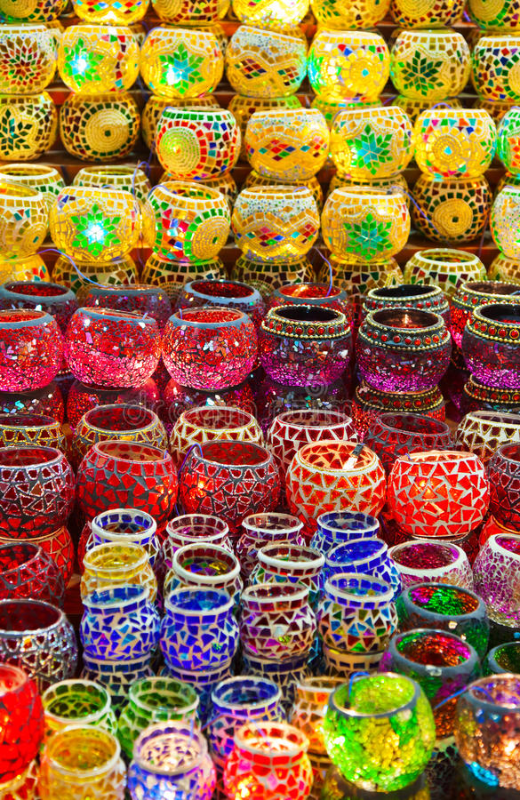 Download Turkish Lamps stock photo. Image of display, eastern - 26799474