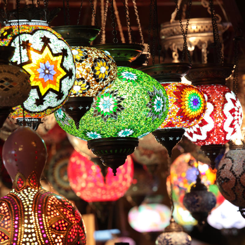 Download Turkish lamps stock photo. Image of colors, bright, souvenirs - 27181762