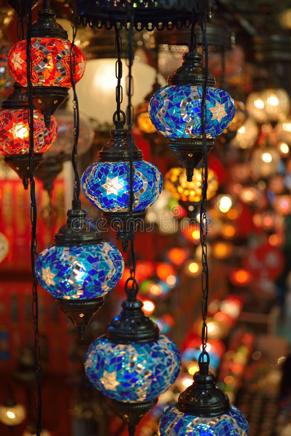 Download Turkish Lamps Stock Photo. Image Of Hues, Cultural, Craft    40632734