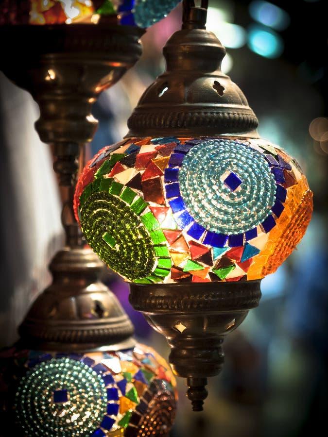 Turkish lights stock image