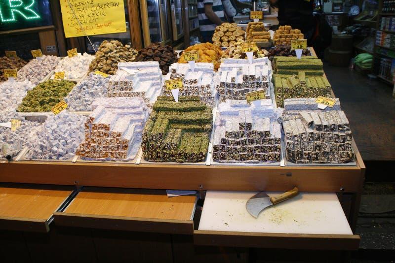 Turkish Locum Dessert. Istanbul Editorial Image