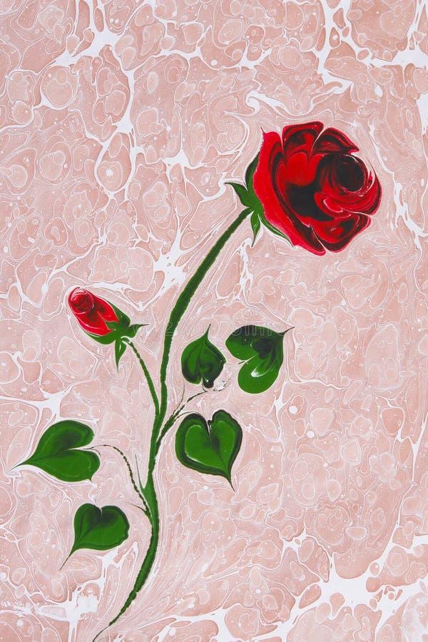 Download Turkish Marbled Paper Artwork Background Stock Photo - Image: 13825142