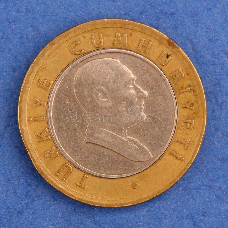 Turkish Metal Coin Stock Photography