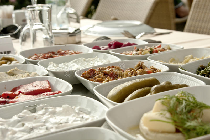 Turkish Mezze Royalty Free Stock Images