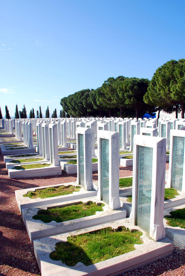 Download Turkish Military Cemetery editorial photography. Image of empire - 32542427