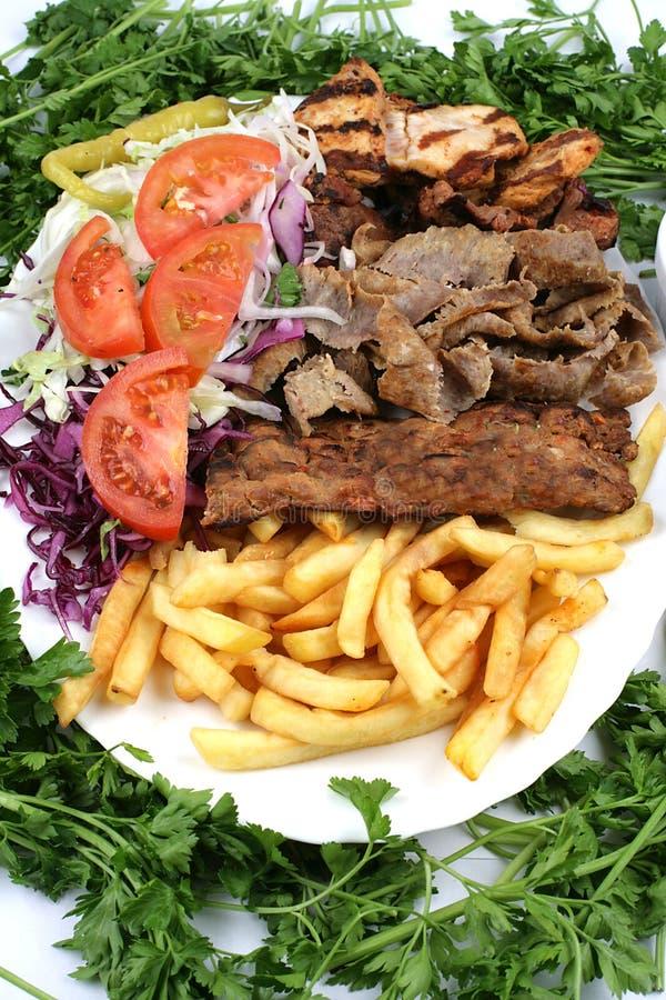 Download Turkish Mix Kebab And Salad Stock Photo - Image: 6058390