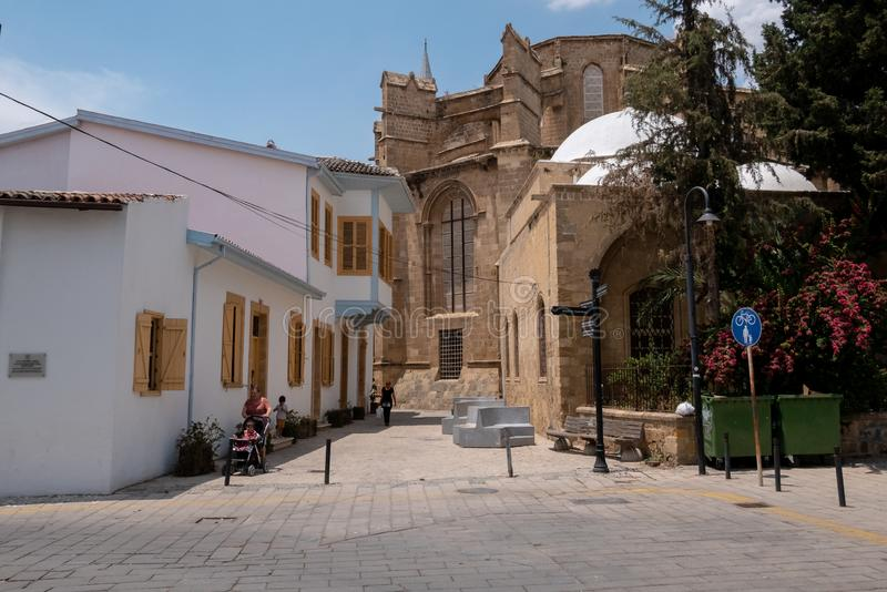 Turkish Nicosia life royalty free stock images