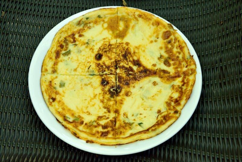 Turkish pancake kaygana. Special Turkish pancake kaygana in the Black Sea region of Turkey stock image