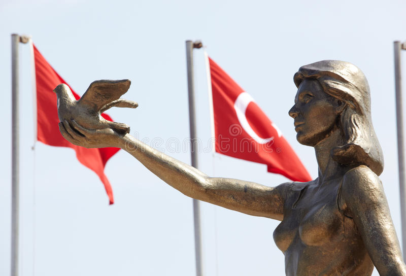 Download Turkish Peace Monument stock photo. Image of monument - 31031874